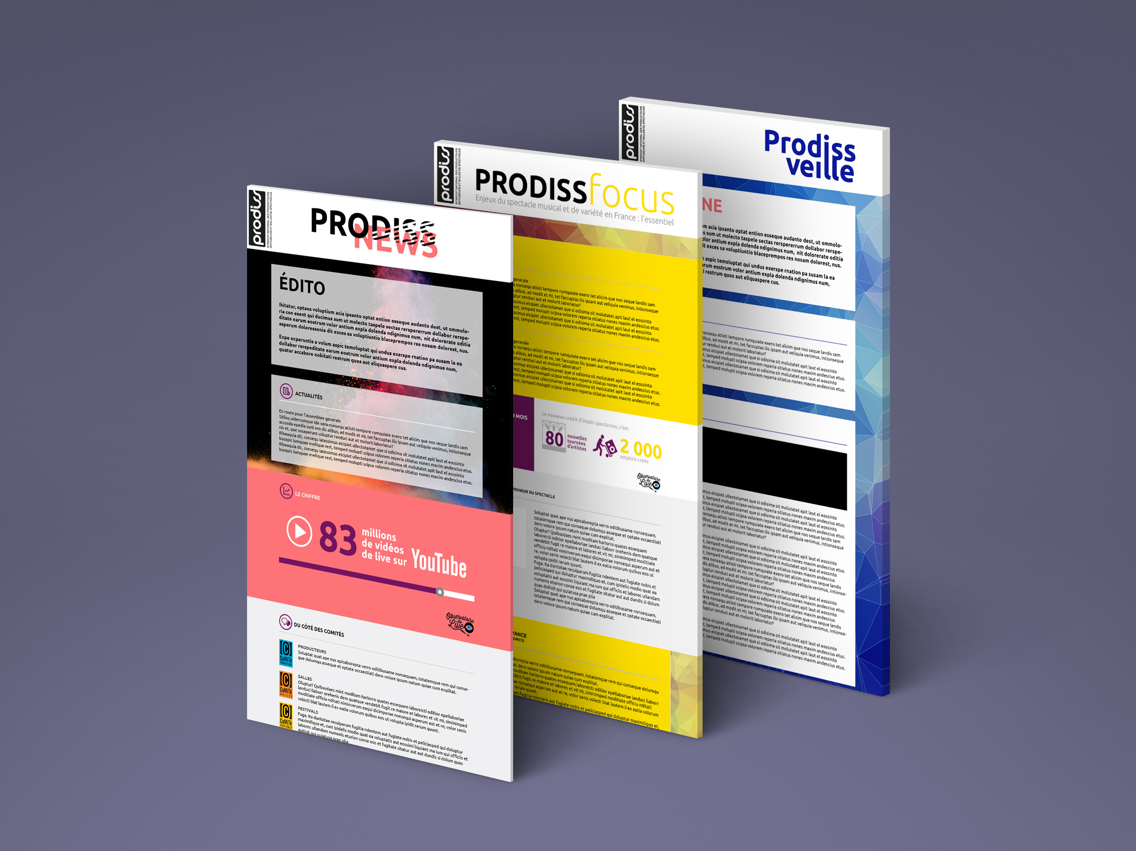prodiss-newsletters